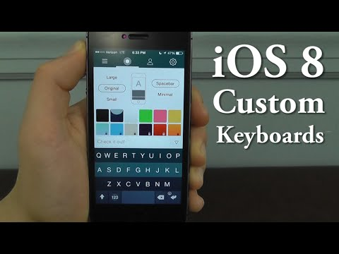 iOS 8 Custom Keyboards – Top 8 Keyboards for iOS 8