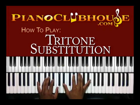 TRITONES: Bass Line Substitution (4 of 4) - easy gospel piano tutorial ♫