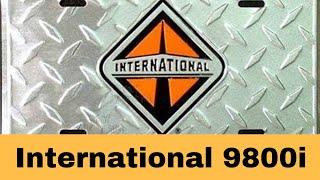 International 9800i Auto Drive 2012