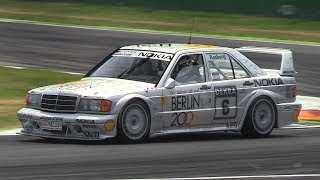 Mercedes 190 E 2.5-16 Evo II DTM Ex Rosberg - GLORIOUS Intake Sound on Track!