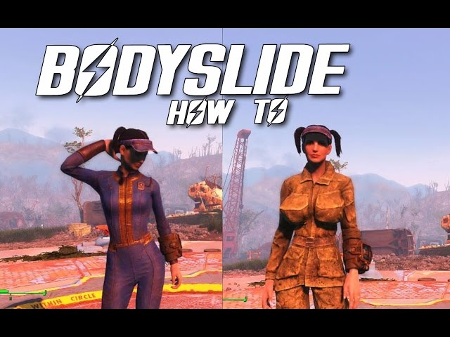 Fallout 4 bodyslide how to create your own body shape How to make your own house in fallout 3