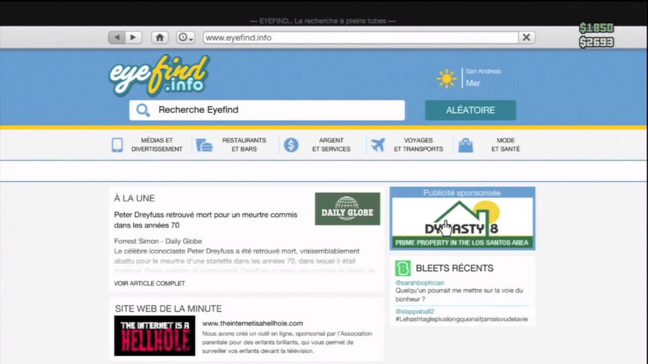 Gta5 online astuce comment acheter rapidement un apparte for Acheter une maison