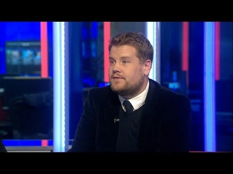 James Corden On His Day Editing The Sun