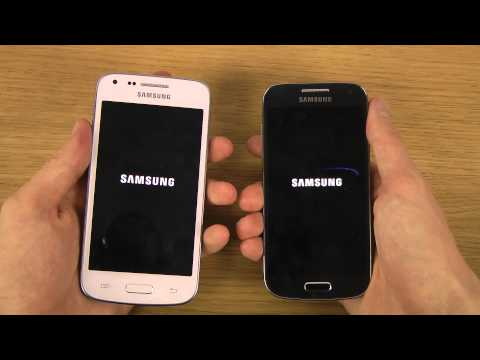 Samsung Galaxy Core Plus vs. Samsung Galaxy S4 Mini - Which Is Faster?