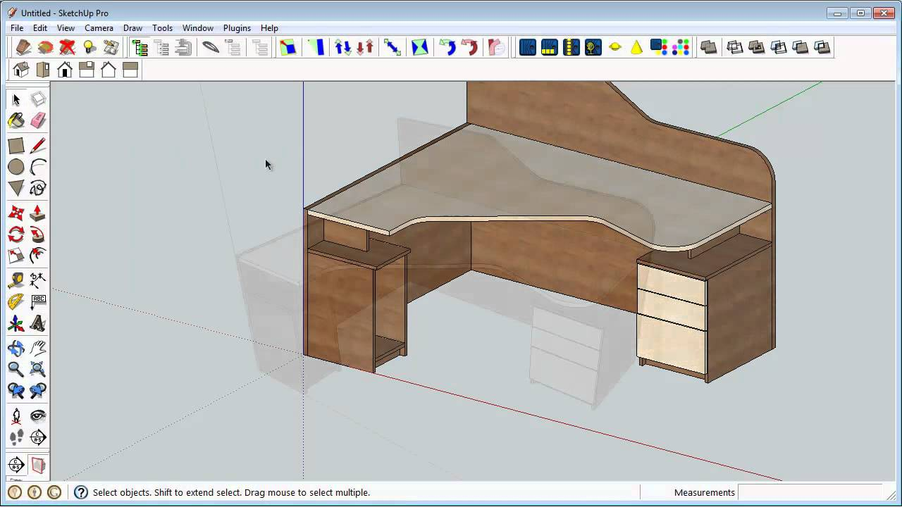 Autodesk inventor 3d model usage in sketchup for interior design youtube - Kitchen design tutorial ...