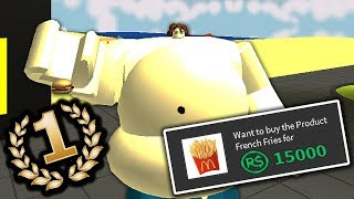 WERELDRECORD IN EATING SIMULATOR! (ROBLOX EATING SIMULATOR)