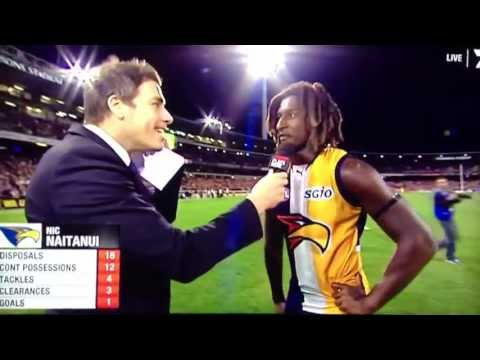 Last 41 seconds West Coast Eagles vs North Melbourne round 8 2013