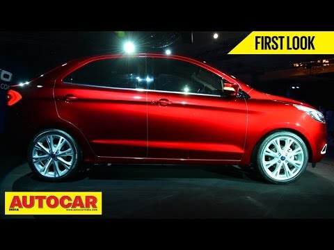 New Ford Figo Concept Compact Sedan   First Look Video   Autocar India