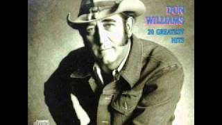 Watch Don Williams Only Water shining In The Air video