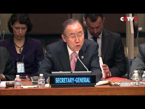 Ban Ki-moon Condemns Attack on UNICEF Staff in Somalia