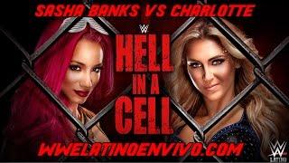 Sasha Banks vs Charlotte WWE Hell In A  Cell 2016 En Español
