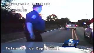 RAW VIDEO: Tulsa police release video of deadly officer-involved shooting.