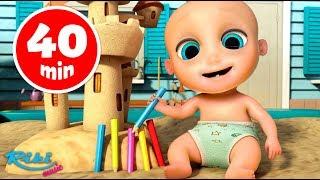 Сборник Песенки для детей: One Two + More Kids Songs 😜 Loo Loo Kids на русском