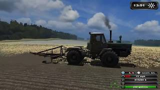 Farming Simulator 2011 Пахота