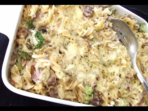 Creamy Tuna and Mushroom Pasta - RECIPE