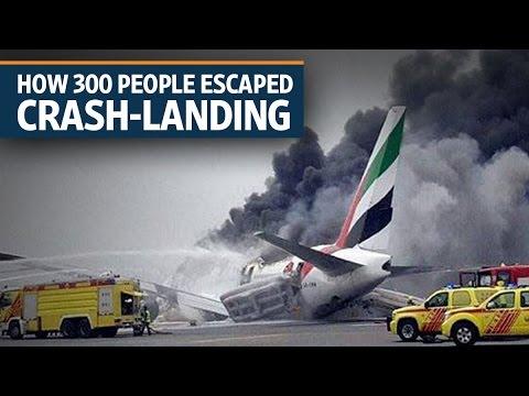 How 300 people escaped crash-landing of Emirates' flight to Dubai | Video