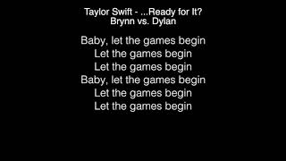 Download Lagu Brynn vs  Dylan - Ready for It? Lyrics (Taylor Swift) The Voice Gratis STAFABAND