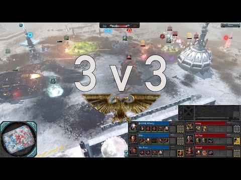 Dawn of War 2 - 3v3 | XPhial + Pibb + Max Power [vs] zeetorq + Ser Topi + Zevargel