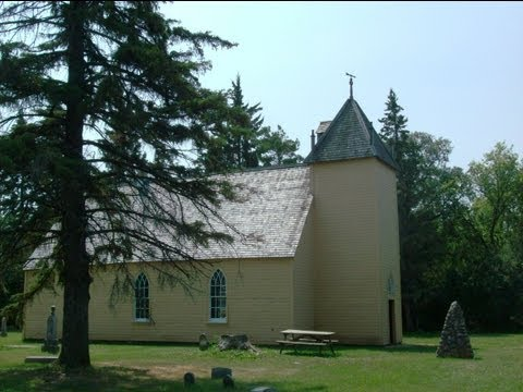 St. Anne's Anglican Church, Poplar Point area, MB