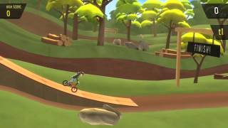 Pumped BMX+  xbox one cycle stunts game
