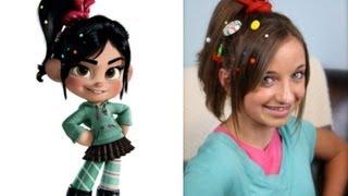 Wreck-It Ralph Hairstyle Tutorial | A CuteGirlsHairstyles Disney Exclusive