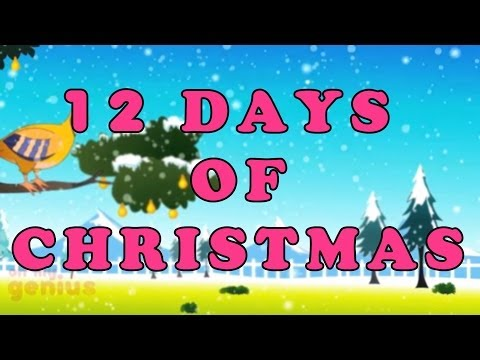 Twelve Days Of Christmas | Christmas Songs