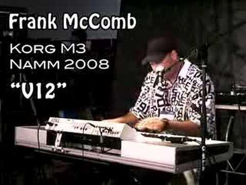 Frank McComb plays the Korg M3 at NAMM 2008 #1