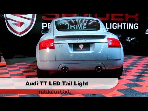 Spyder Auto Installation: 2000-06 Audi TT LED Tail Lights