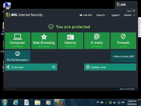 How to install AVG 2013 | Free Antivirus & Identity Protection | AVG Tutorial
