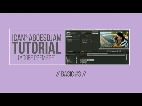TUTORIAL: Video Editing (Basic) #3 in Bahasa Indonesia