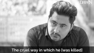 Murdered student Mashal Khan's sister remembers her late brother
