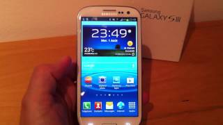 Test du Samsung Galaxy S III (GT-I9300)