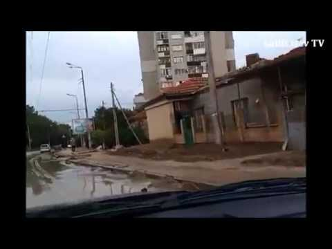 Варна, р-н Аспарухово. После потопа 19.06.14