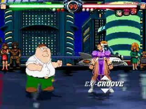 Mugen - Peter Griffin The Player video