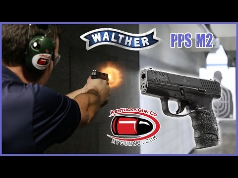 Walther PPS M2 9MM Pistol Range Review