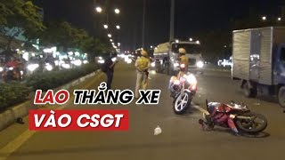 CSGT gãy xương hàm vì bị nam thanh niên chạy xe đâm trúng