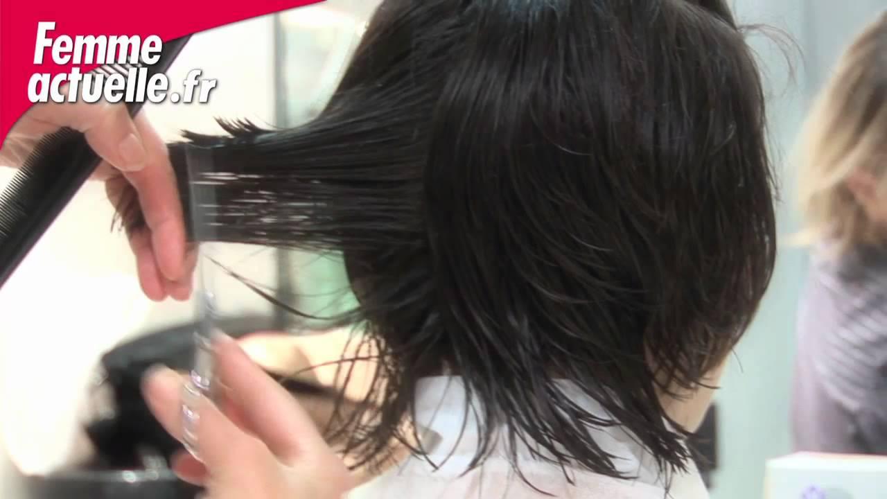 Une idée de coupe courte féminine - Coiffure - YouTube