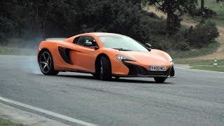 McLaren 650S Track Driving Sliding  Tech Interview  Chris Harris On Cars