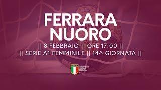 Serie A1F [14^]: Ferrara - Nuoro 24-21