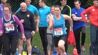 2017 Munster T & F Championships Women's Senior & Masters 100 & 200 metres...Video by Jerry Walsh