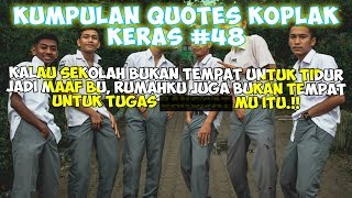 Caption Sindiran Koplak 🤦♂ (Status wa/status foto) - Quotes Remaja Part 48