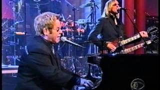 Elton John- Late Show with David Letterman. February 3, 2005. All That I