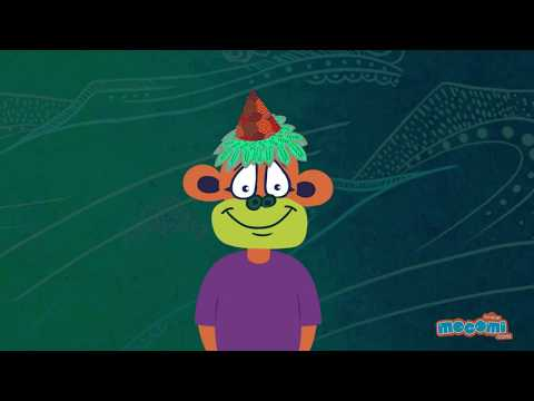 Panchatantra Stories in Hindi - How Monkeys got their Red Bottom Story in Hindi | Mocomi Kids