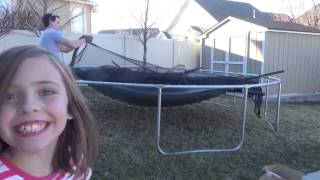 Propel 15' Trampoline with Enclosure - Setup Guide
