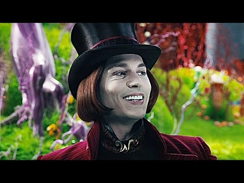 Charlie And The Chocolate Factory - Chocolate Room (1080p)