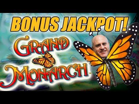 BONUS JACKPOT! 🦋EXCITING Grand Monarch Slot Machine WIN 🦋The Big Jackpot