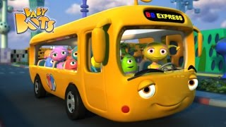 Wheels On The Bus   Baby Bots