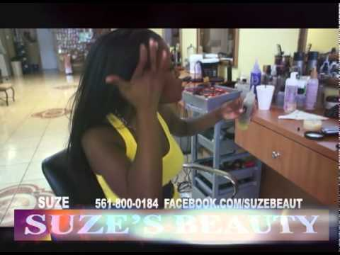 LADIES. HOW TO GROW BACK YOUR EDGES 'SUZES BEAUTY HAIR SALON'