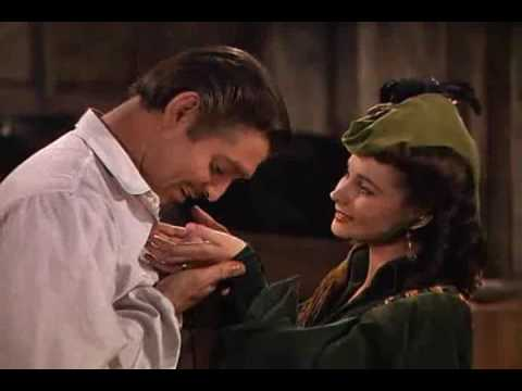 Gone with the wind -Scarlett and Rhett 