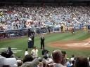 Old Timer's Day 2008 Yankee Stadium - Kevin Maas.